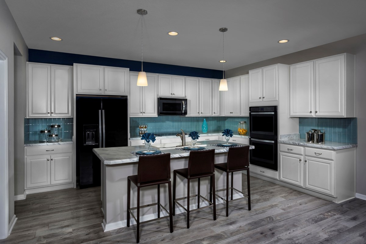 New Homes in St. Johns County, FL - Heritage Oaks The Maston Kitchen