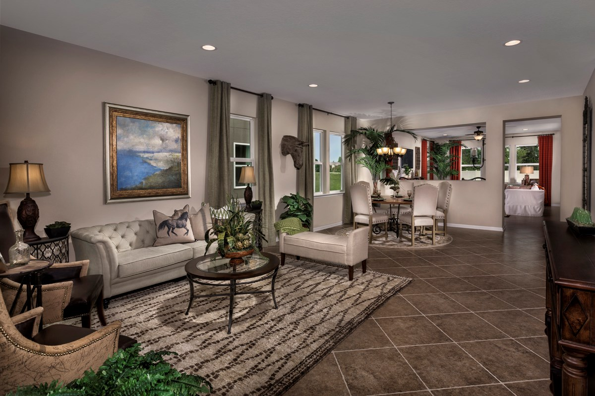 New Homes in St. Johns County, FL - Heritage Oaks The Brookhaven Flex Room