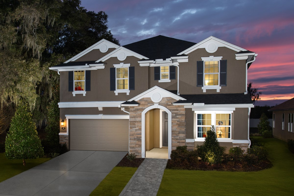 New Homes in St. Johns County, FL - Heritage Oaks The Maston Exterior