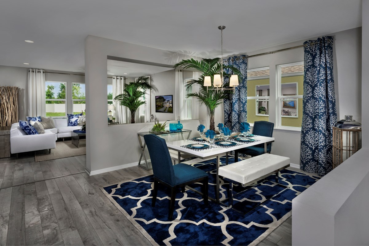 New Homes in St. Johns County, FL - Heritage Oaks The Maston Formal Dining Room