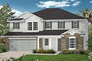 New Homes in Jacksonville, FL - The Laurel Modeled