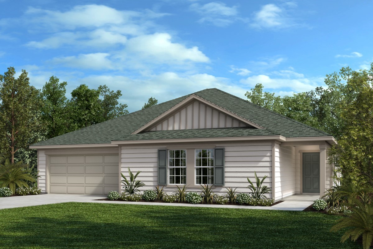 New Homes in Jacksonville, FL - Greene Meadows The Dalton
