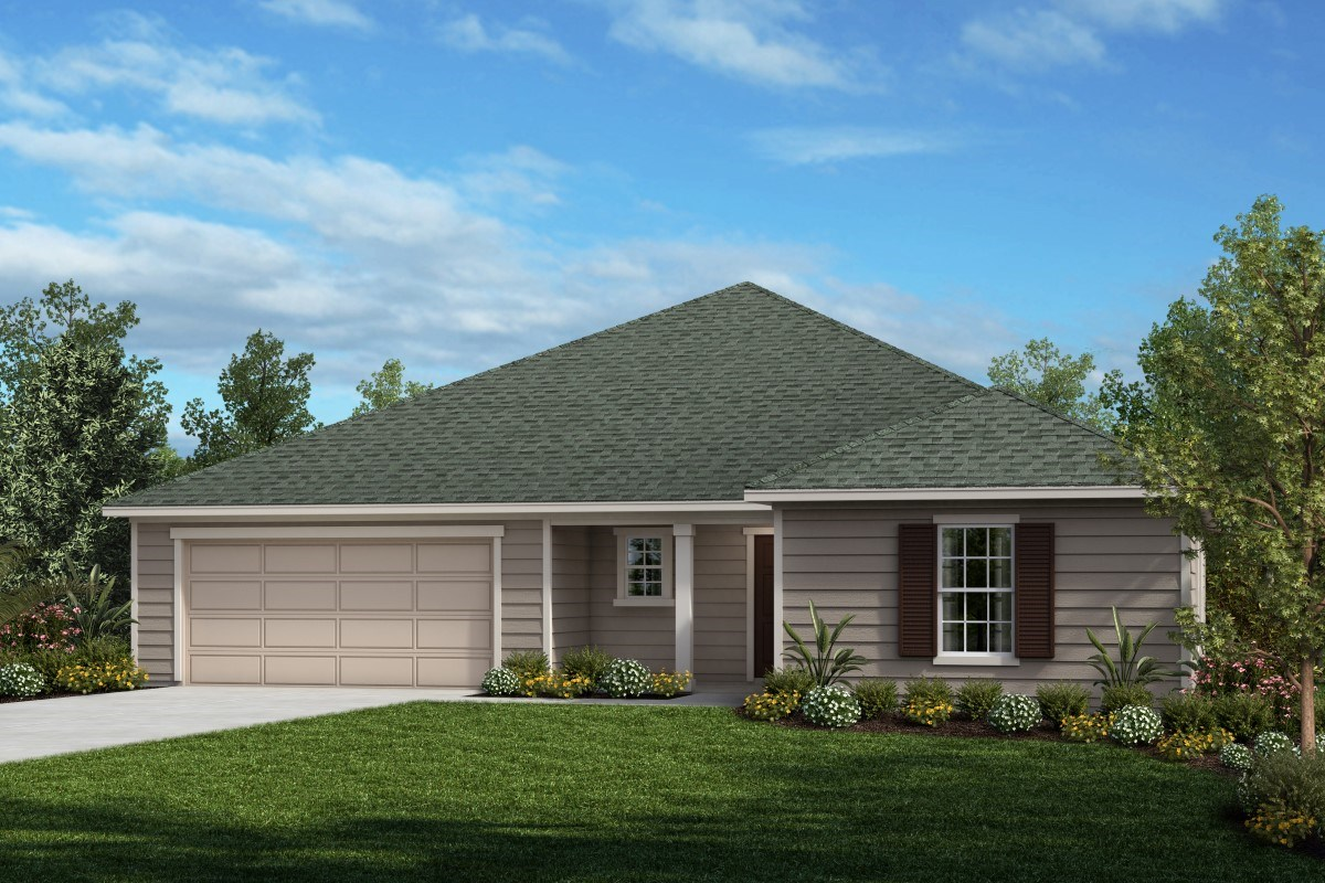 New Homes in Jacksonville, FL - Logan Pointe The Convington