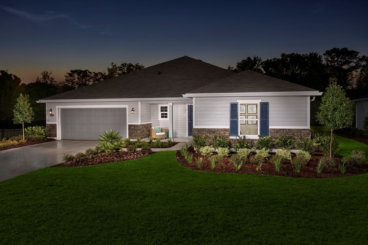 New Homes in Jacksonville, FL - Logan Pointe The Covington