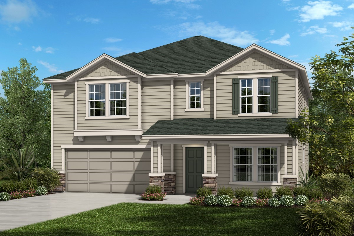New Homes in Jacksonville, FL - Magnolia Grove The Palm