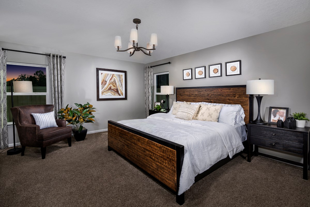 New Homes in Jacksonville, FL - Magnolia Grove The Hayden Master Bedroom