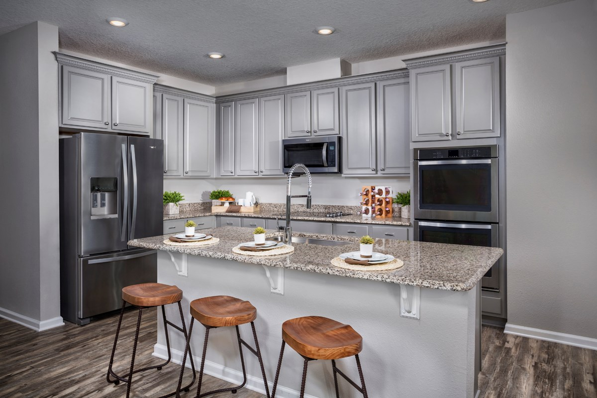 New Homes in Jacksonville, FL - Magnolia Grove The Palm Kitchen