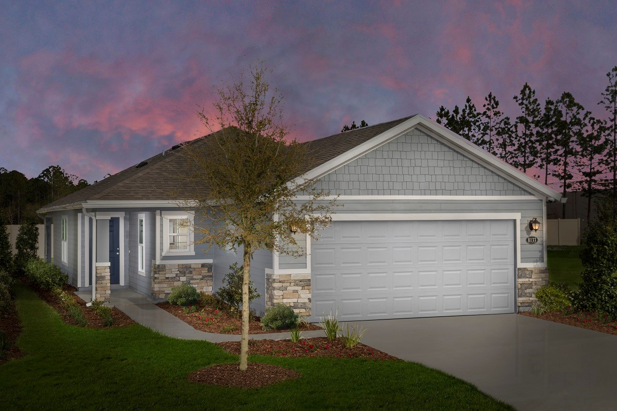 New Homes in Jacksonville, FL - Meadows at Oakleaf The Darby