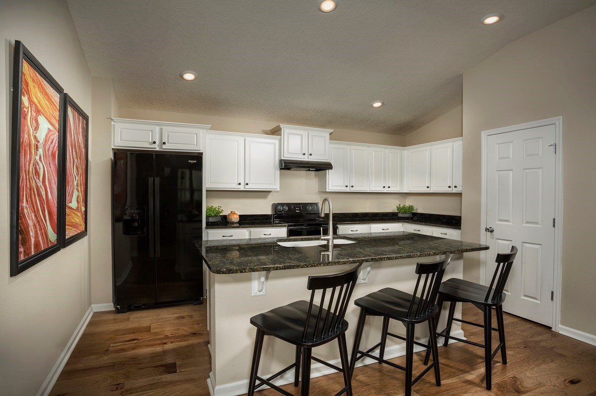 New Homes in Jacksonville, FL - Meadows at Oakleaf The Darby Kitchen