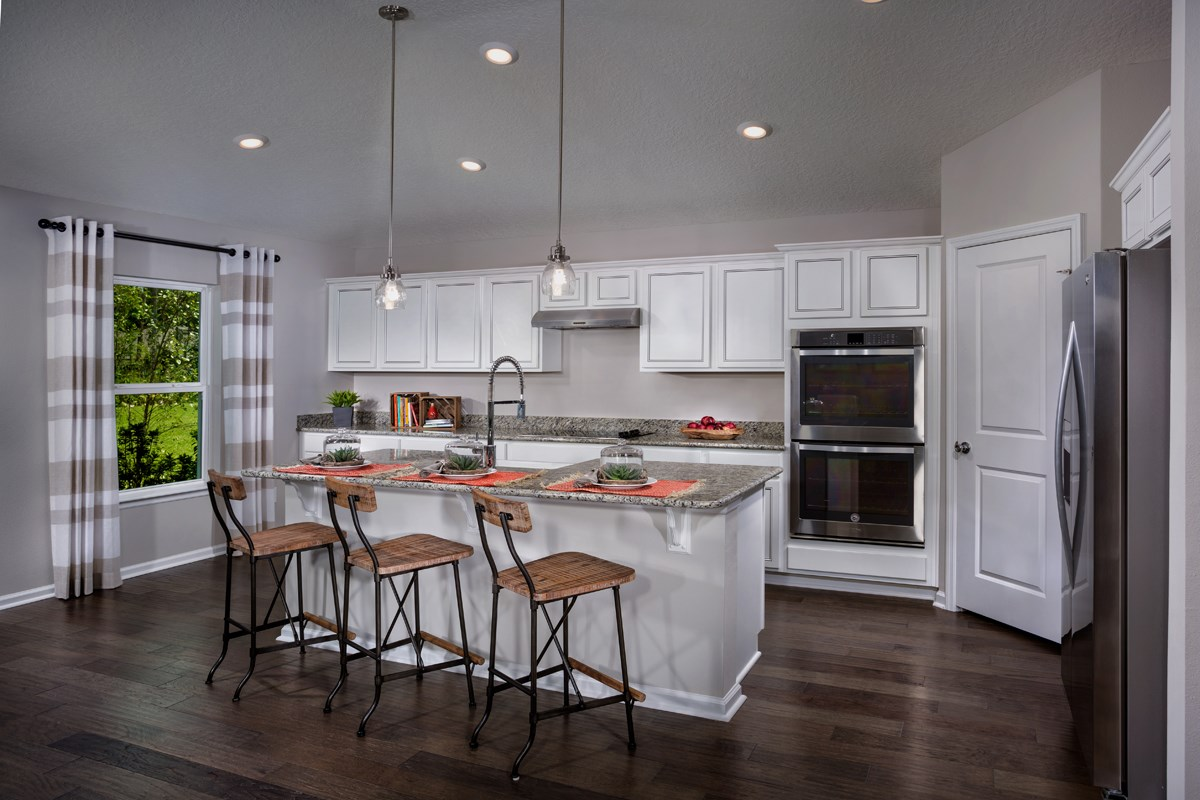 New Homes in St. Johns County, FL - Mill Creek Plantation The Covington Kitchen