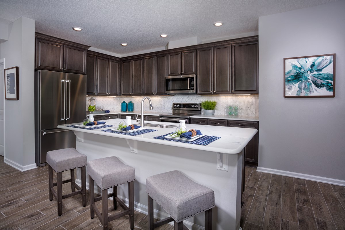 New Homes in St. Johns County, FL - Mill Creek Plantation The Palm Kitchen