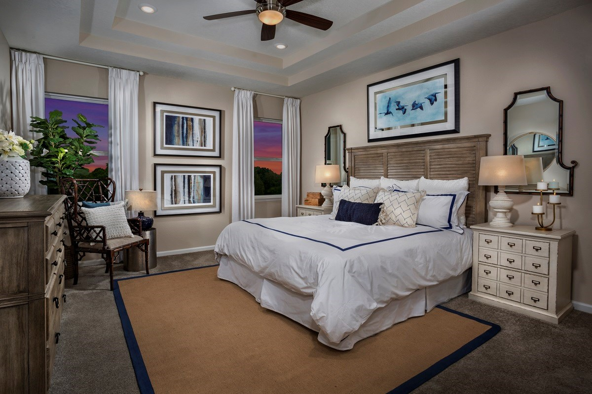 New Homes in Jacksonville, FL - Oakwood Manor The Claremont Master Bedroom