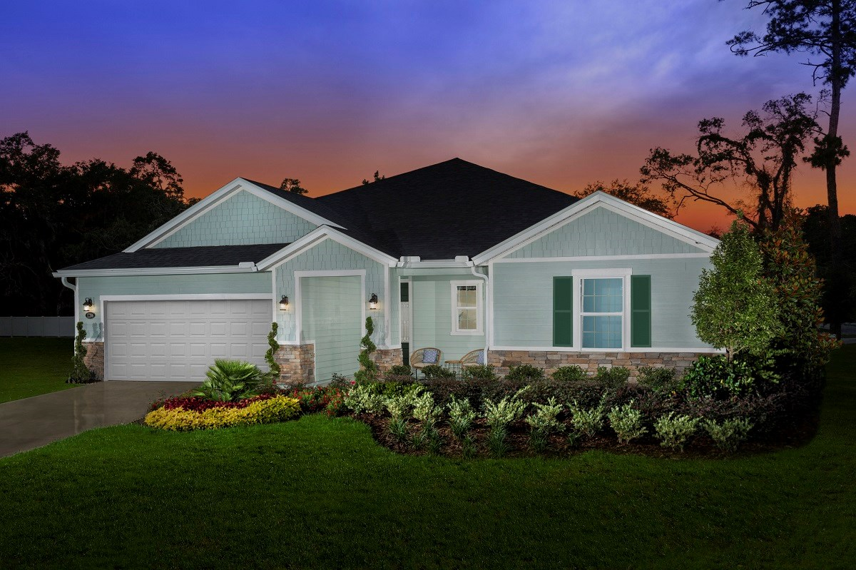 New Homes in Jacksonville, FL - Oakwood Manor The Claremont