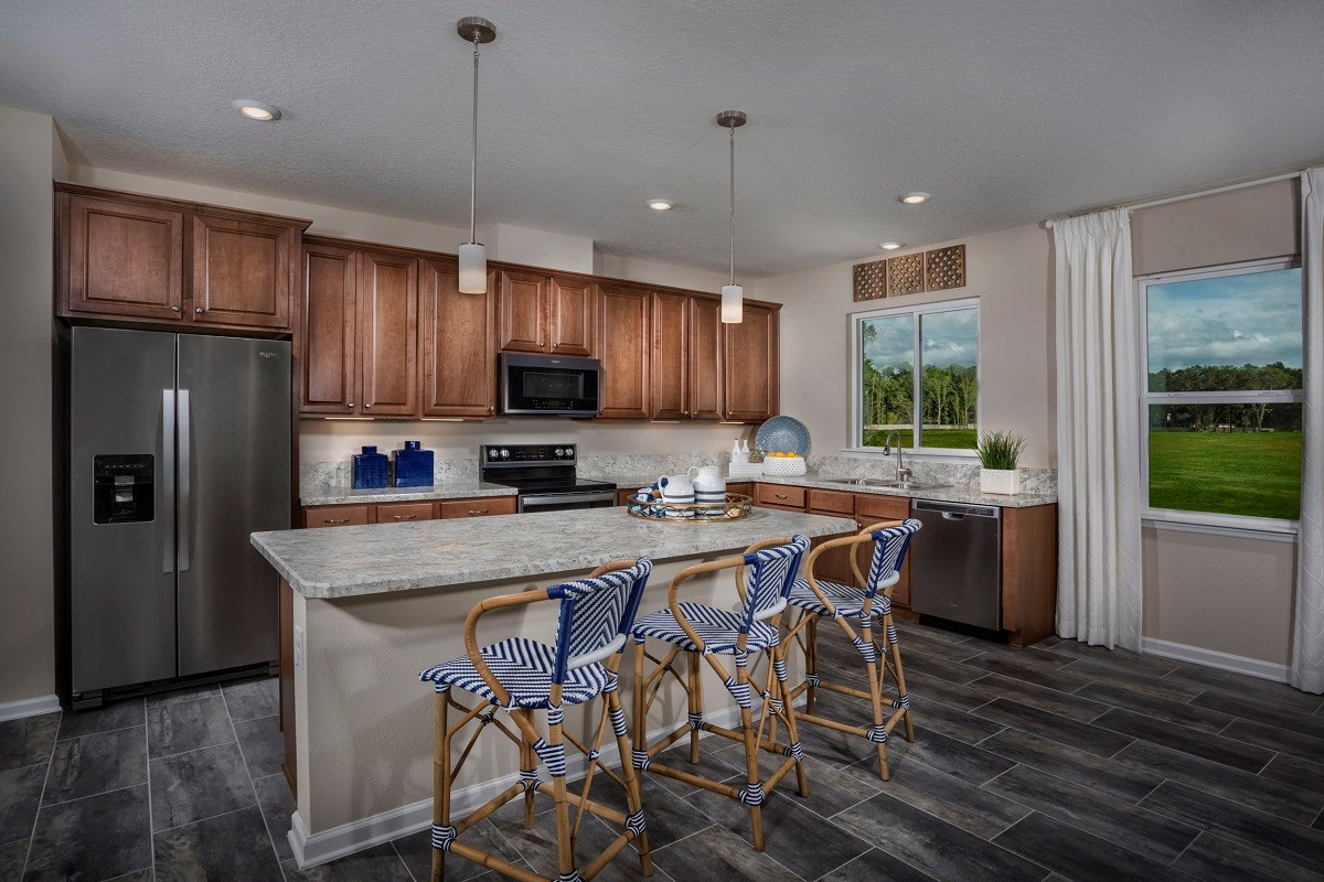 New Homes in Jacksonville, FL - Oakwood Manor The Claremont Kitchen