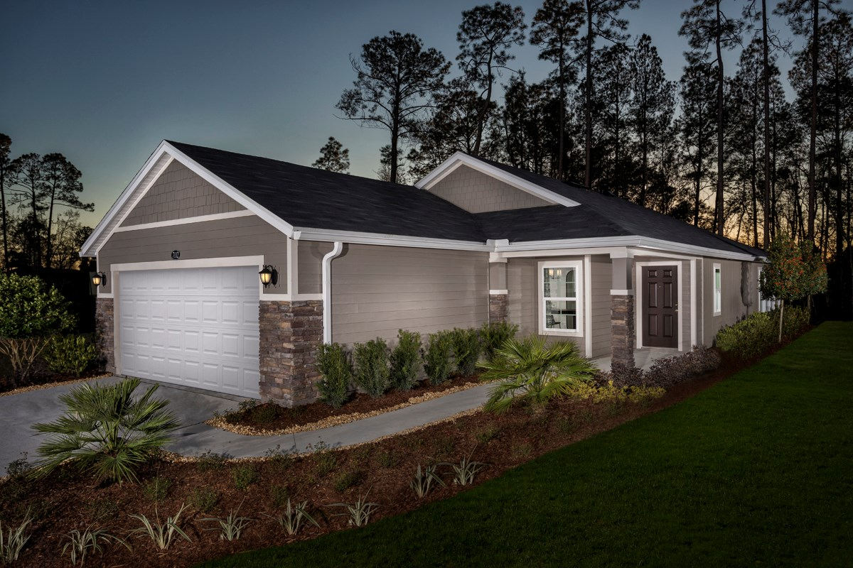 New Homes in Jacksonville, FL - Preston Pines The Branson Modeled