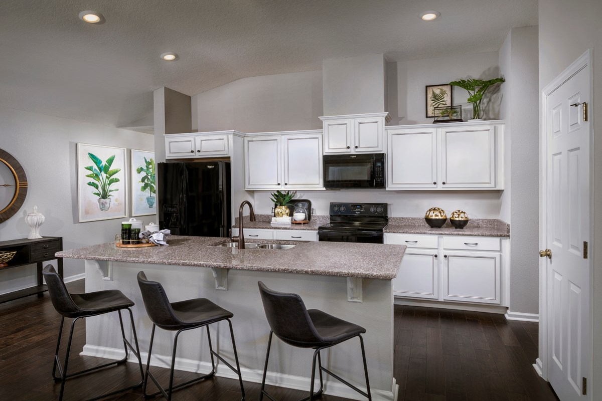 New Homes in Jacksonville, FL - Preston Pines The Branson Kitchen