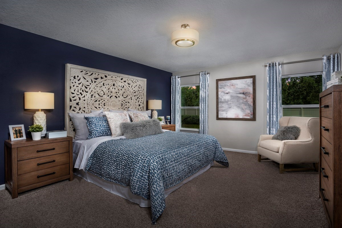 New Homes in Jacksonville, FL - Price Park The Claremont Master Bedroom