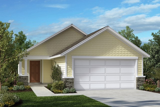 New Homes in St. Augustine, FL - Elevation B