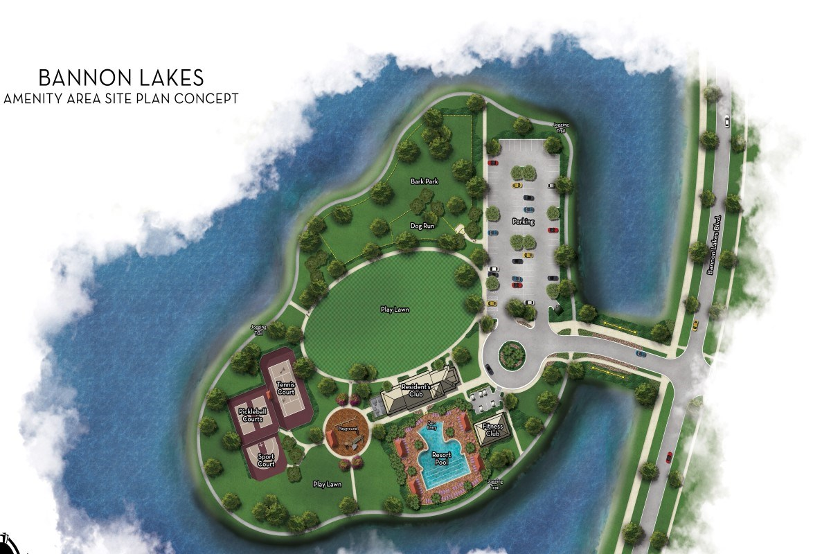 New Homes in St. Augustine, FL - Southshore at Bannon Lakes - Classic Series Bannon Lakes Amenity Center