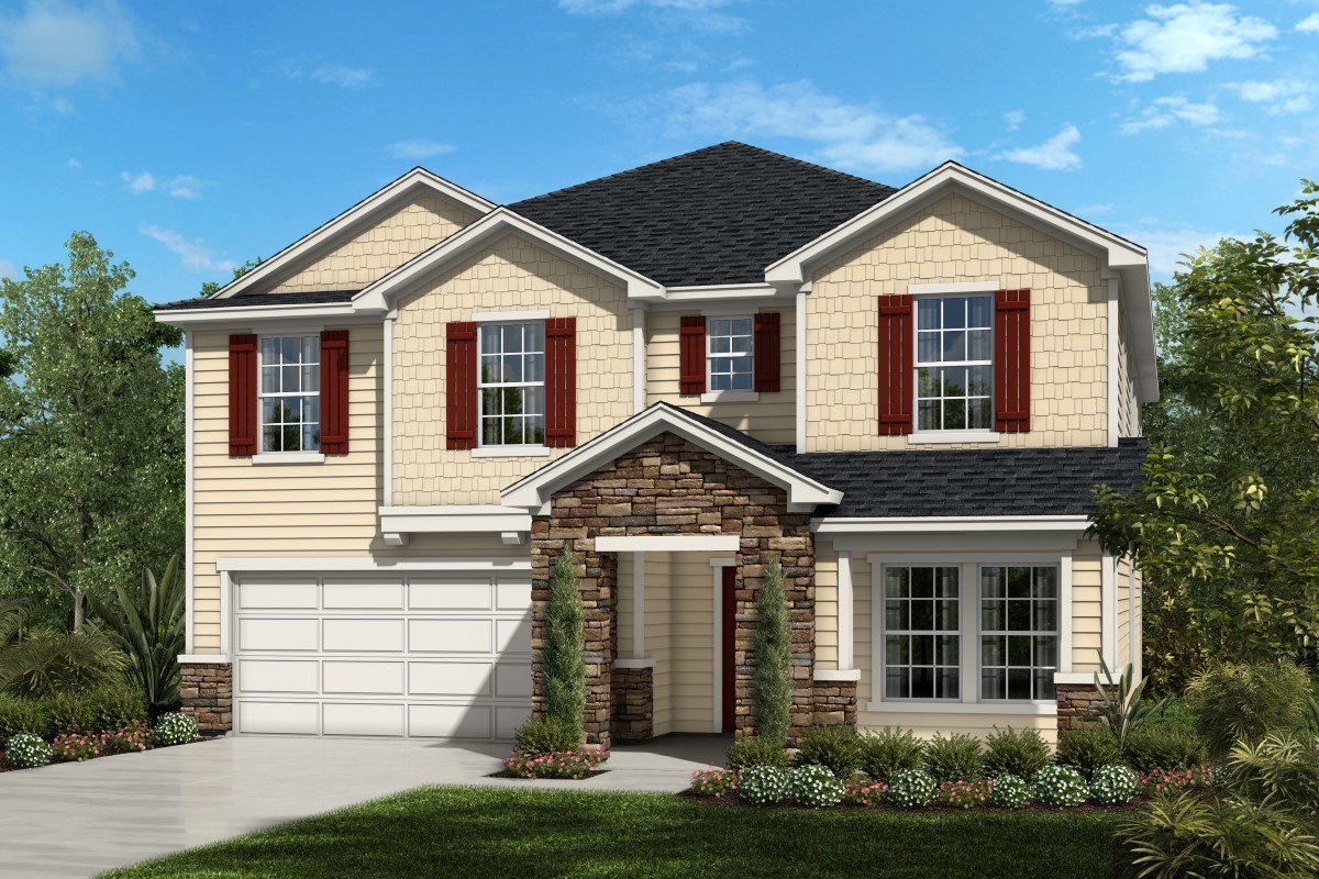 New Homes in St. Augustine, FL - Southshore at Bannon Lakes - Executive Series The Maston
