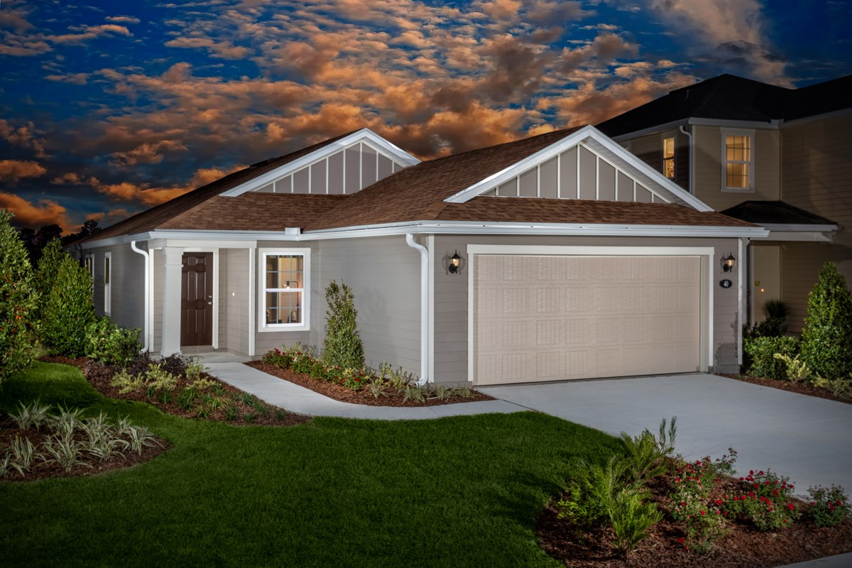 New Homes in St. Augustine, FL - Southshore at Bannon Lakes - Classic Series The Kingsley Modeled