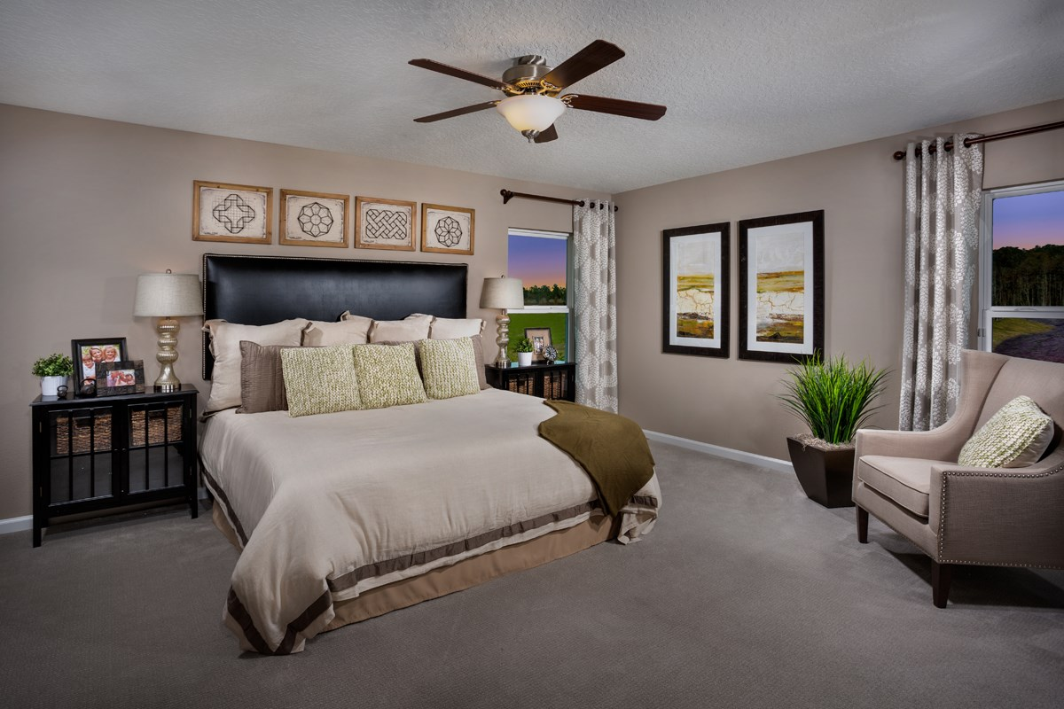 New Homes in St. Johns County, FL - Southshore at Bannon Lakes - Executive Series The Hayden Bedroom