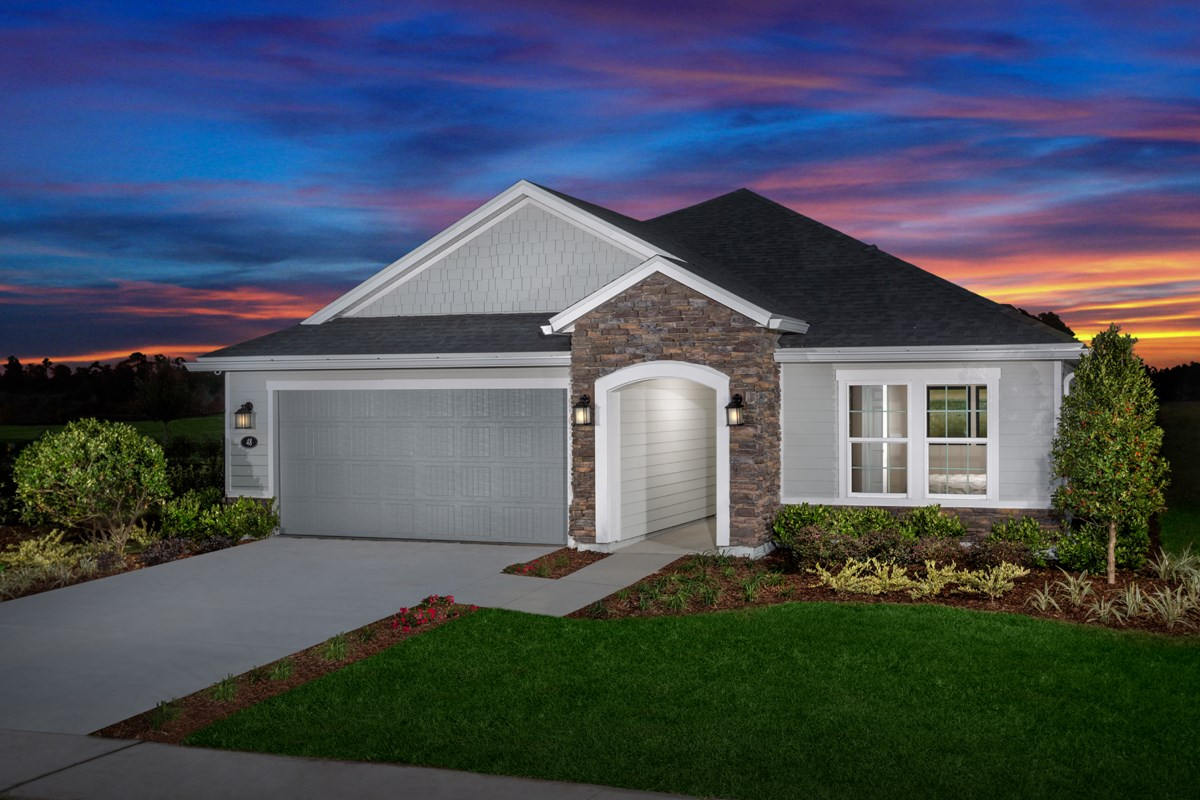New Homes in St. Johns County, FL - Southshore at Bannon Lakes - Executive Series The Hayden Modeled