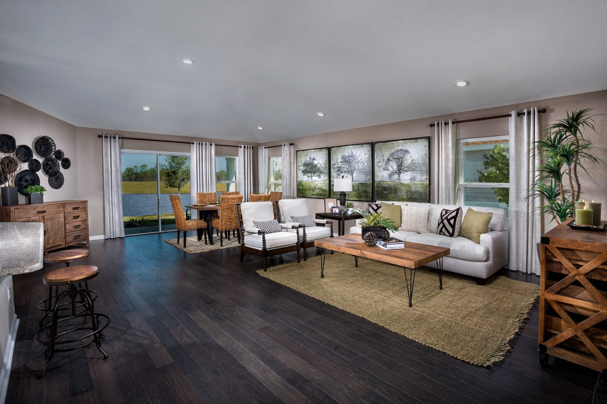 New Homes in St. Augustine, FL - Southshore at Bannon Lakes - Executive Series The Hayden Great Room