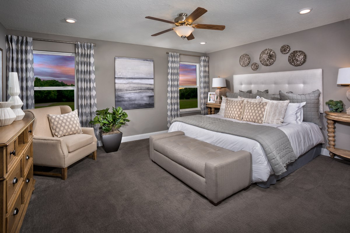 New Homes in St. Johns County, FL - Southshore at Bannon Lakes - Classic Series The Westin Master Bedroom