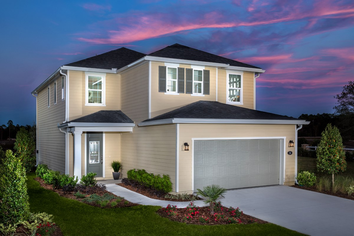 New Homes in St. Johns County, FL - Southshore at Bannon Lakes - Classic Series The Westin Modeled
