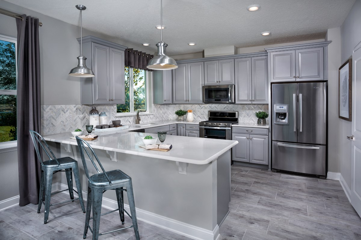New Homes in St. Johns County, FL - Southshore at Bannon Lakes - Classic Series The Westin Kitchen