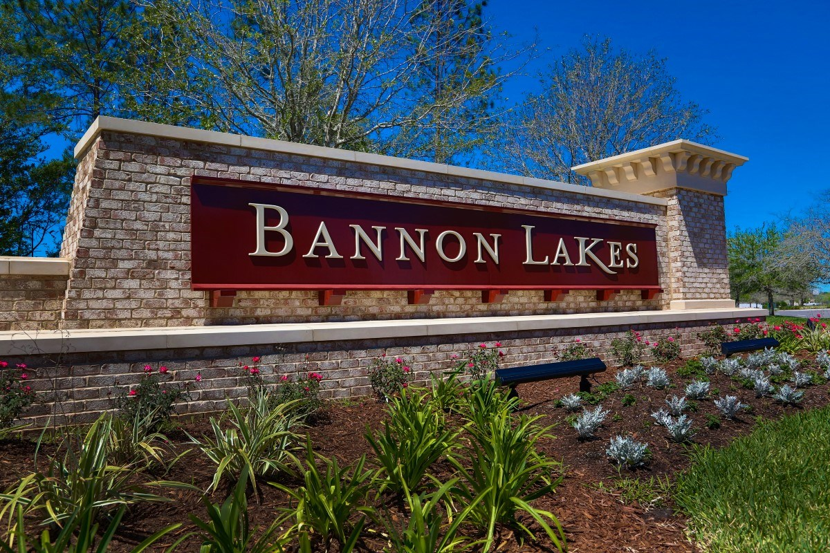 New Homes in St. Johns County, FL - Southshore at Bannon Lakes - Executive Series Monument Entry