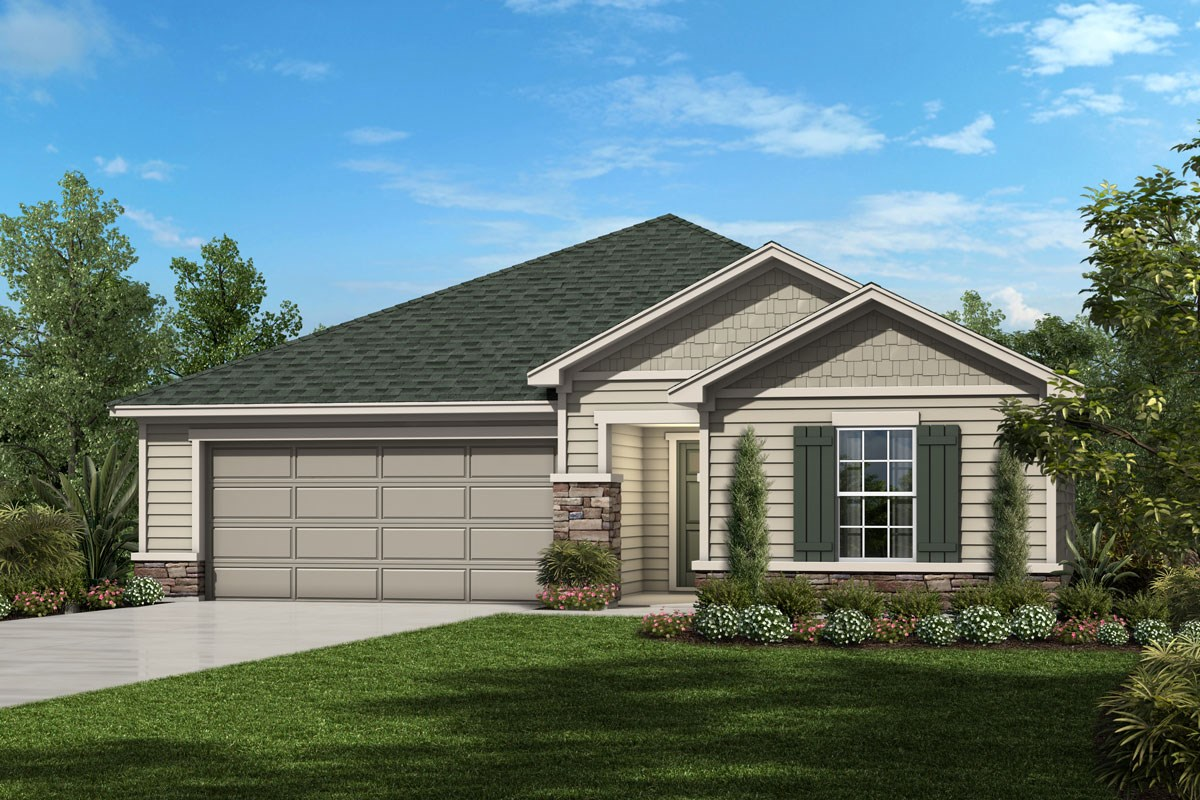 New Homes in Jacksonville, FL - Sienna Grove The Catalina