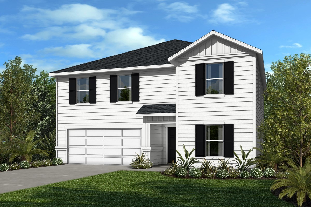 New Homes in Jacksonville, FL - Sienna Grove  The Woodward