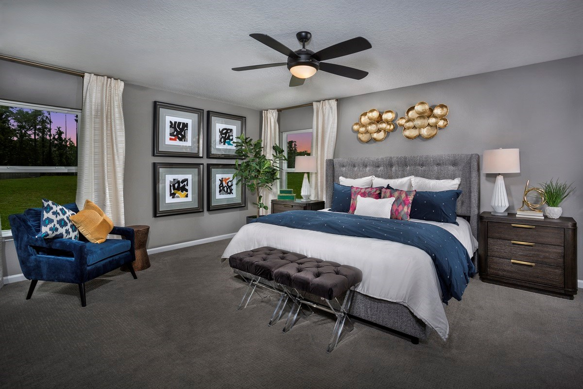 New Homes in Jacksonville, FL - Summerlyn The Hayden Bedroom
