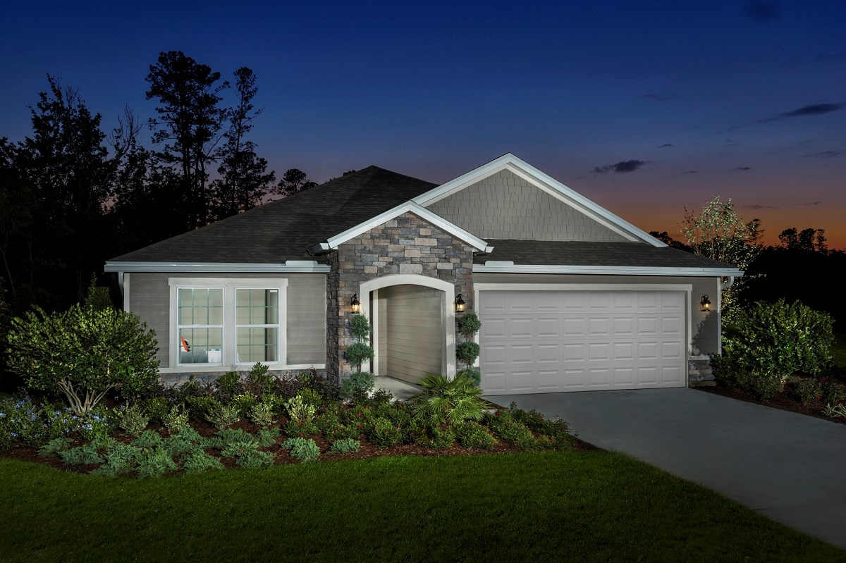 New Homes in Jacksonville, FL - Summerlyn The Hayden Exterior
