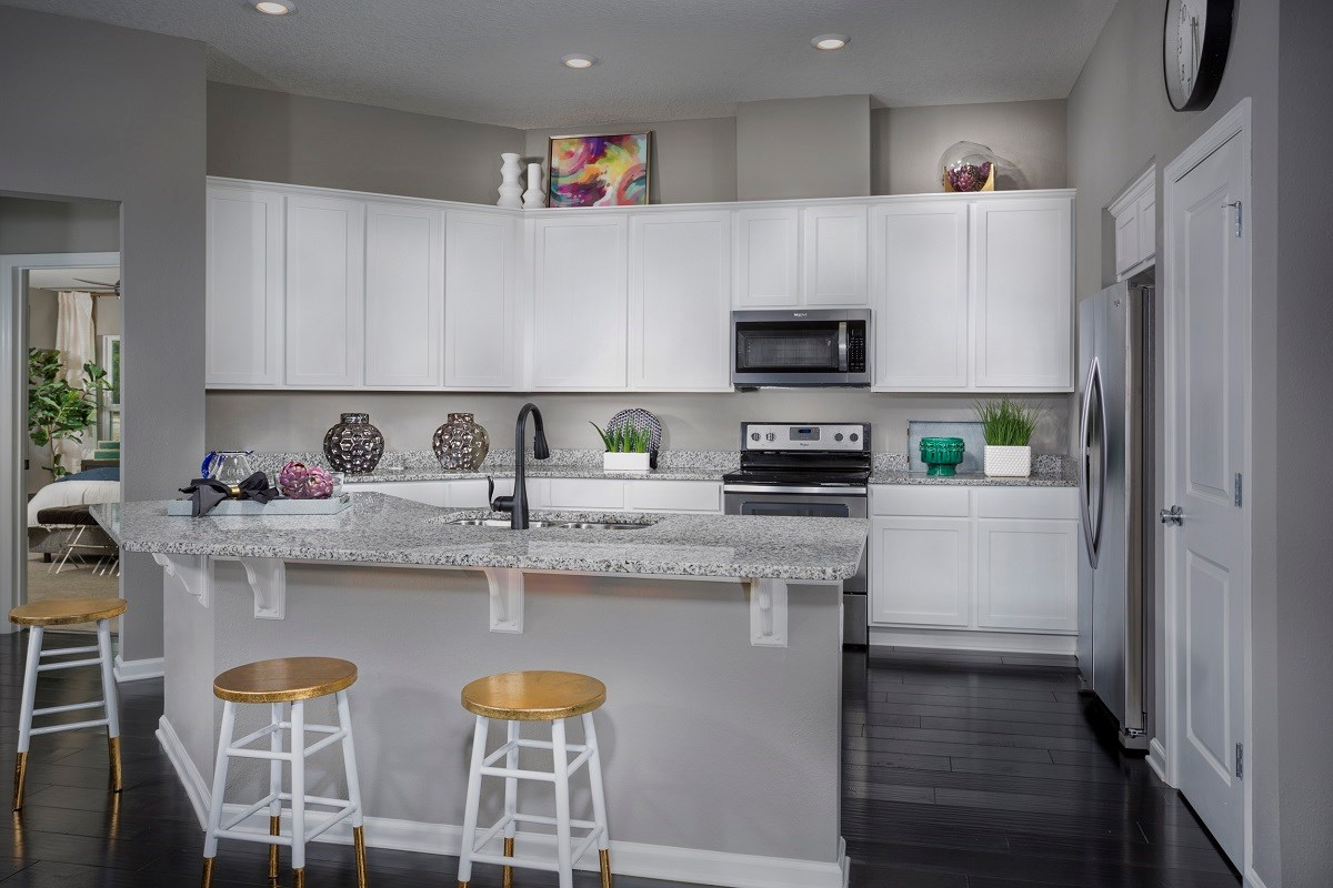 New Homes in Jacksonville, FL - Summerlyn The Hayden Kitchen