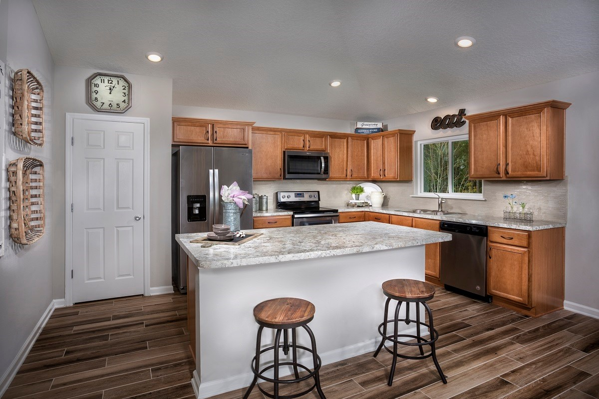 New Homes in St. Augustine, FL - Tomoka Pines The Sullivan Kitchen