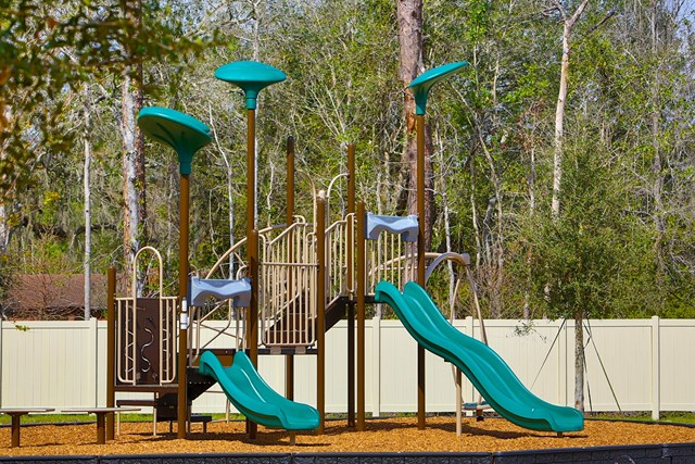 Amenity park at a KB Home community in St. Augustine, FL