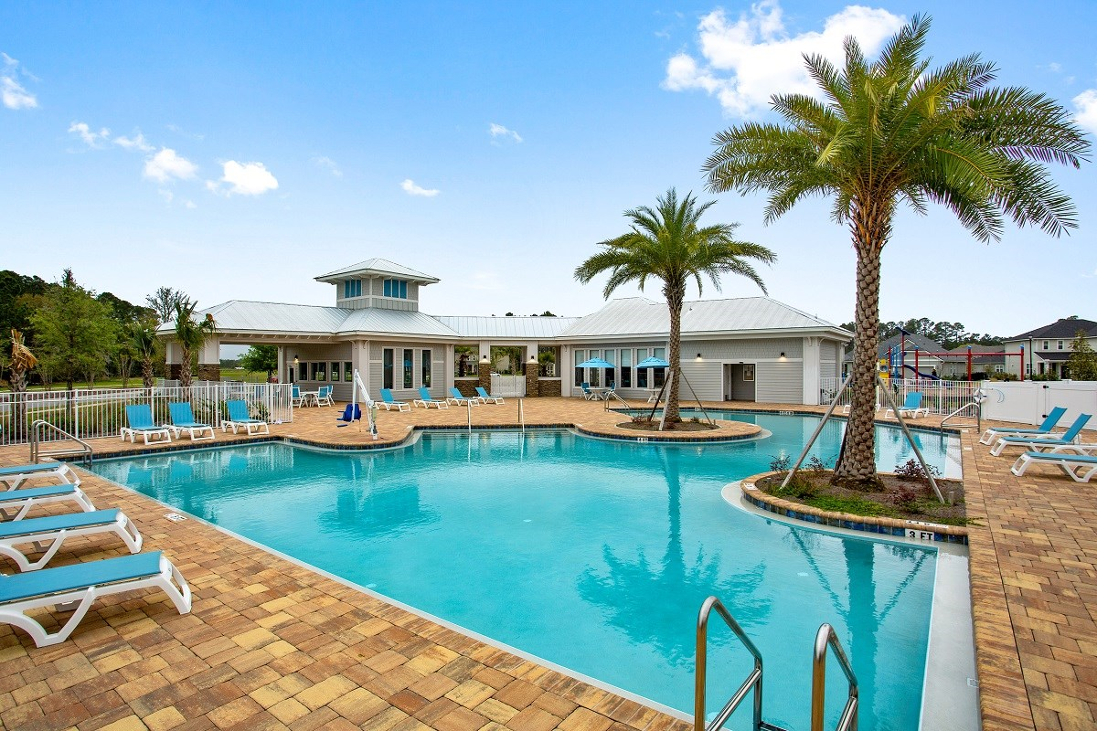 New Homes in St. Augustine, FL - Treaty Oaks Community Pool