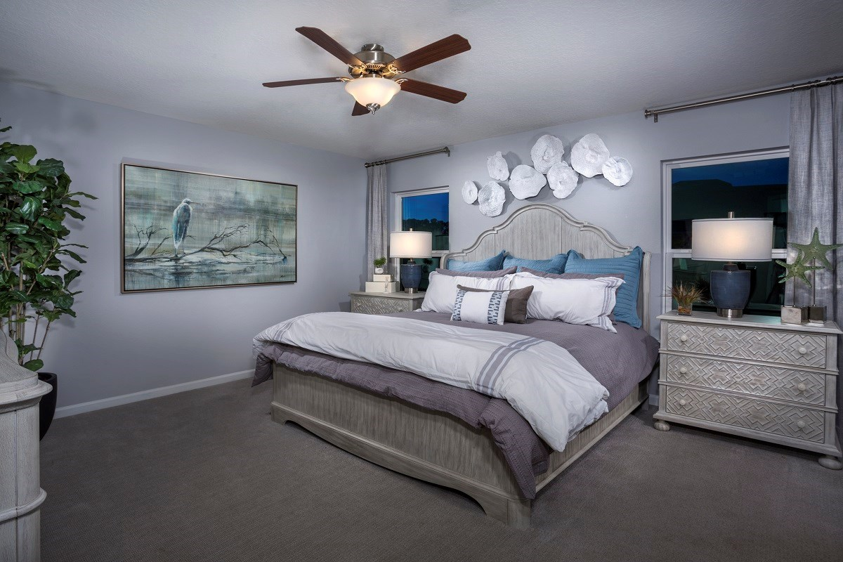 New Homes in St. Augustine, FL - Treaty Oaks The Sullivan Master Bedroom
