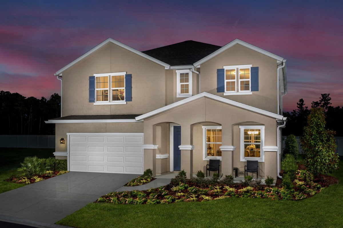 New Homes in Jacksonville, FL - Vista Pointe The Carrington