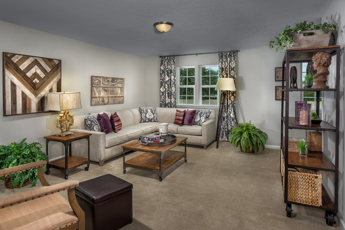 New Homes in Jacksonville, FL - Vista Pointe The Carrington Loft