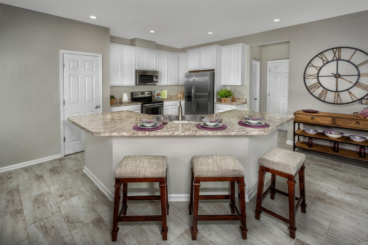 New Homes in Jacksonville, FL - Vista Pointe The Carrington Kitchen