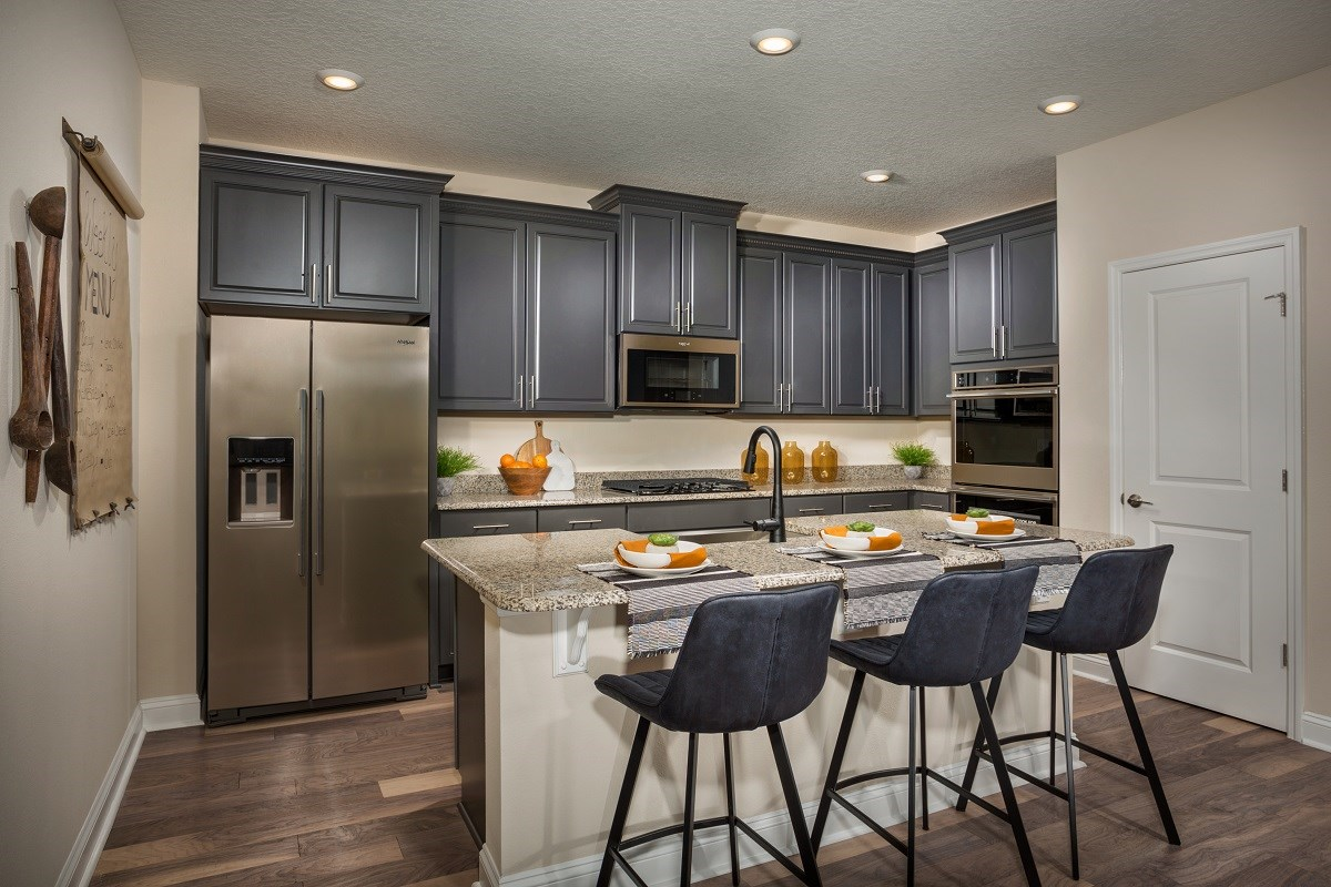 New Homes in Jacksonville, FL - The Preserve at Wells Creek - Classic Series The Darby Kitchen