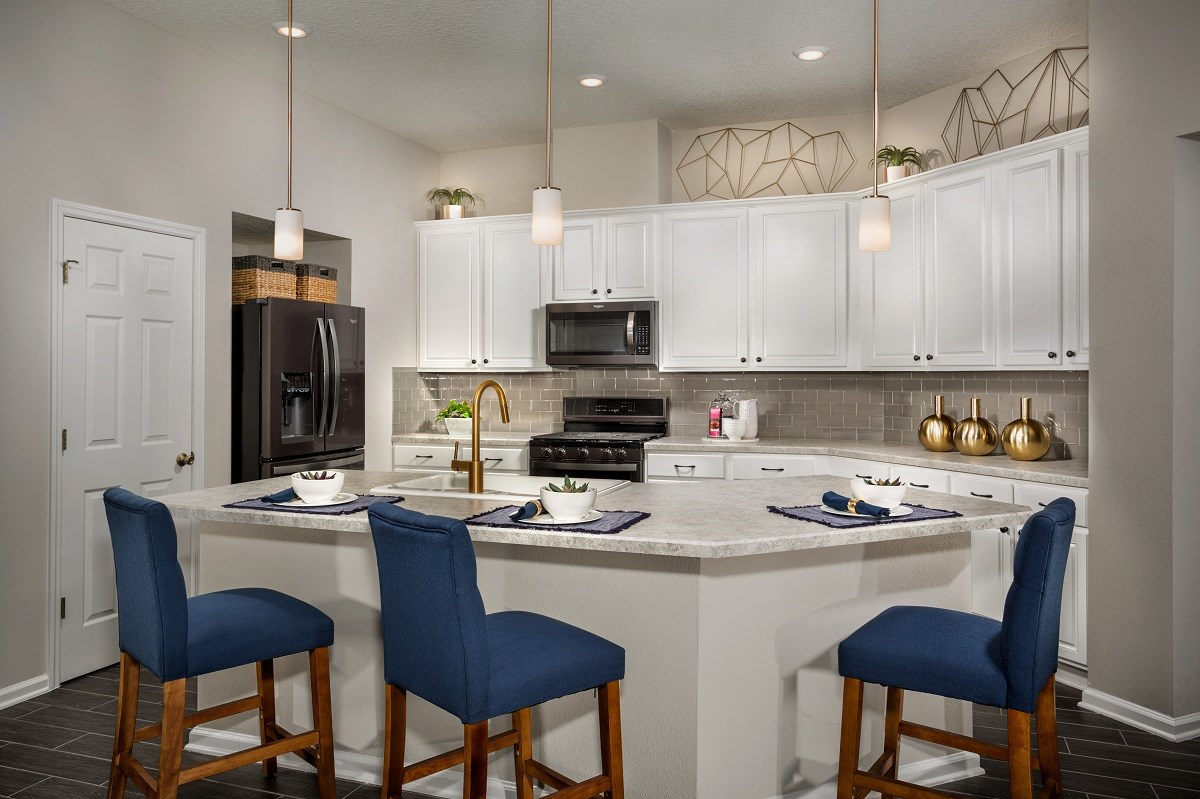 New Homes in Jacksonville, FL - The Preserve at Wells Creek - Executive Series THe Hayden Kitchen