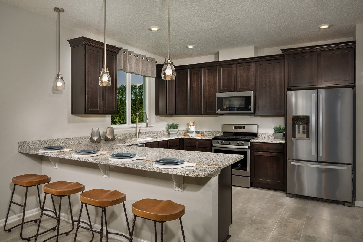 New Homes in Jacksonville, FL - The Preserve at Wells Creek - Classic Series The Westin Kitchen