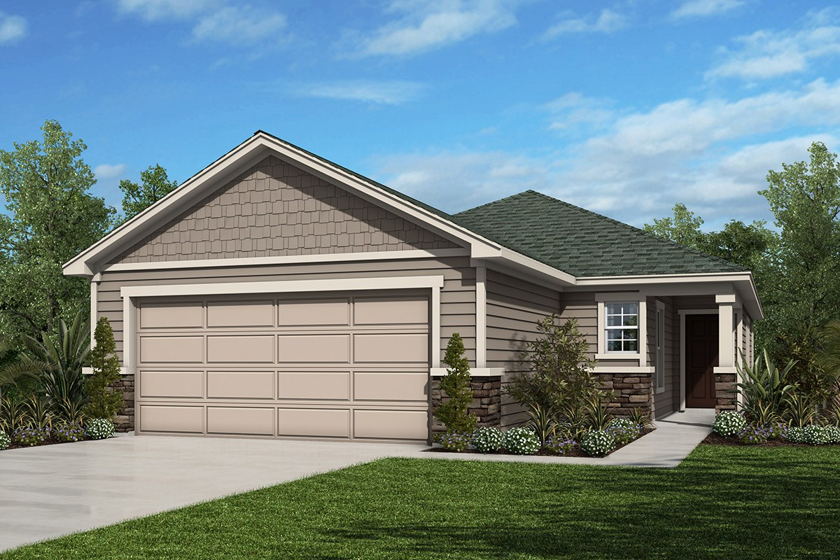New Homes in Jacksonville, FL - The Preserve at Wells Creek - Classic Series The Darby