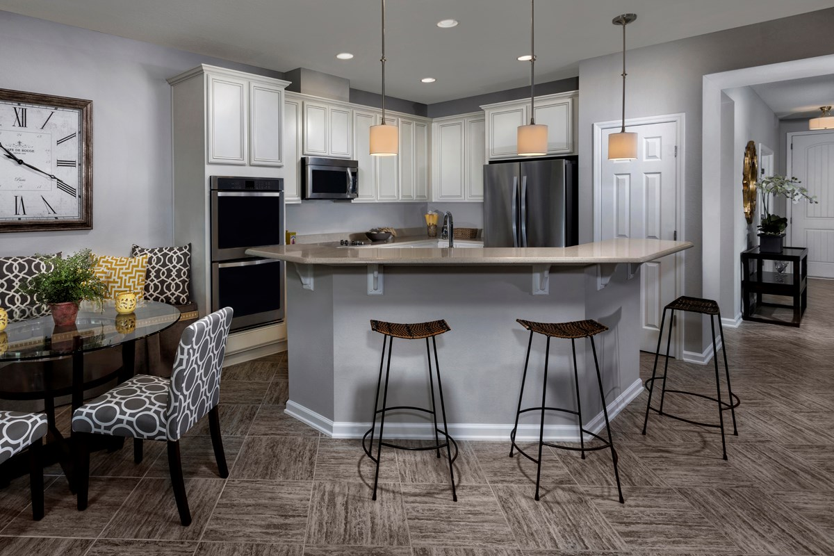 New Homes in Jacksonville, FL - Westland Oaks The Monroe Kitchen