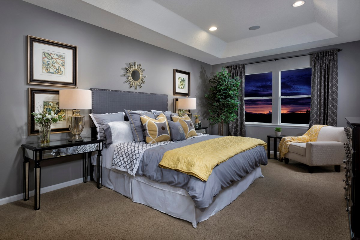 New Homes in Jacksonville, FL - Westland Oaks The Monroe Master Bedroom